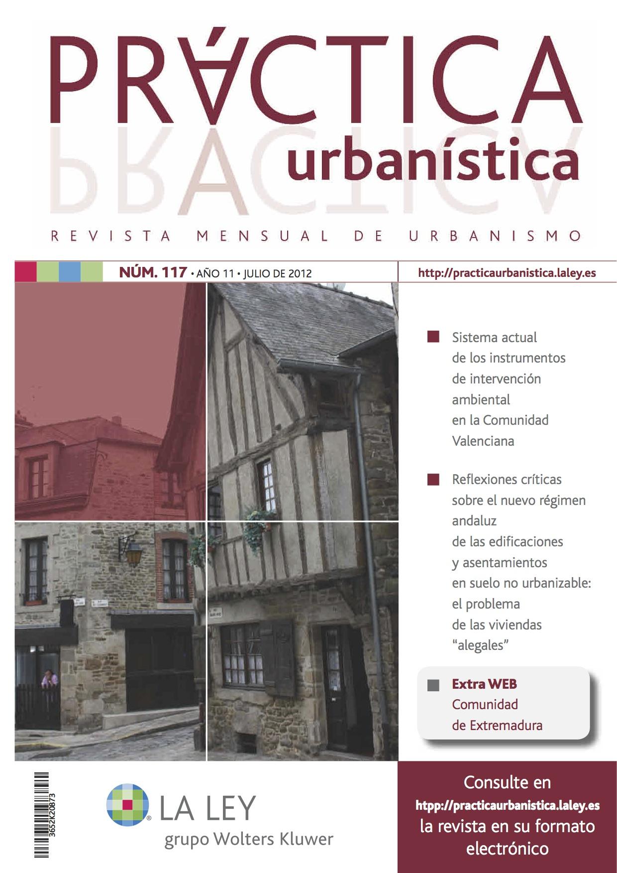 Revista de urbanismo revista pr ctica urban stica for Suelo no urbanizable