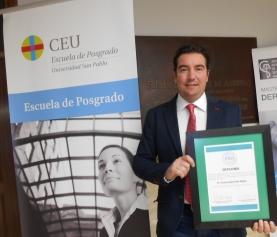 """Acto de entrega del sexta edición del Premio Nacional de Urbanismo """"Ricardo Santos Diez"""""""