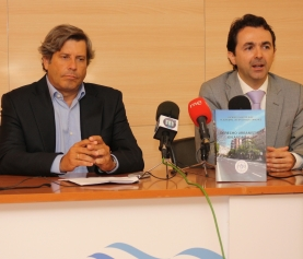"""Se presenta el manual del curso de urbanismo """"Derecho Urbanístico en Andalucía"""", escrito por Ricardo Santos y Alejandro Criado"""