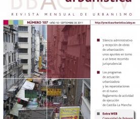 Revista Práctica Urbanística. Los deberes de la propiedad del suelo en el suelo urbano consolidado.